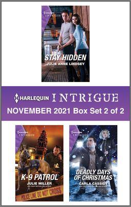 Harlequin Intrigue November 2021 - Box Set 2 of 2