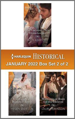 Harlequin Historical January 2022 - Box Set 2 of 2