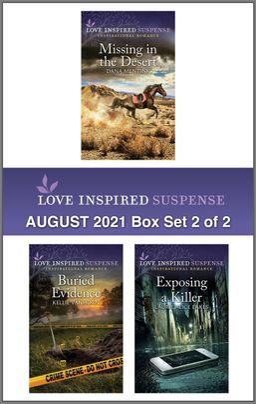 Love Inspired Suspense August 2021 - Box Set 2 of 2