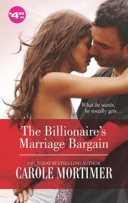 The Billionaire's Marriage Bargain