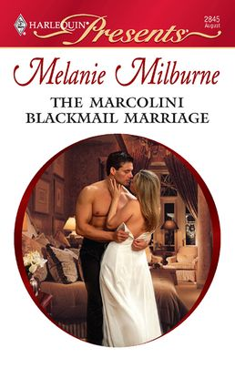 Harlequin | The Marcolini Blackmail Marriage