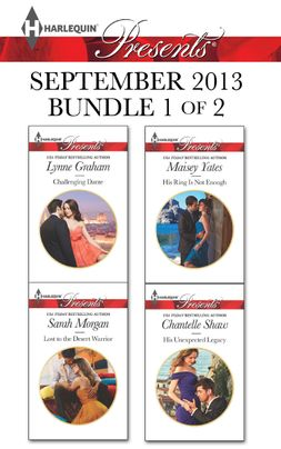 Harlequin Presents September 2013 - Bundle 1 of 2