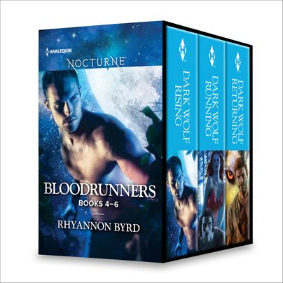 Rhyannon Byrd Bloodrunners Series Books 4-6