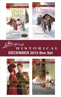 Love Inspired Historical December 2015 Box Set