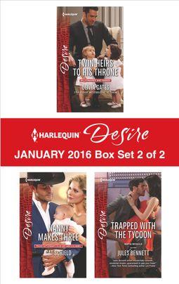 Harlequin Desire January 2016 - Box Set 2 of 2