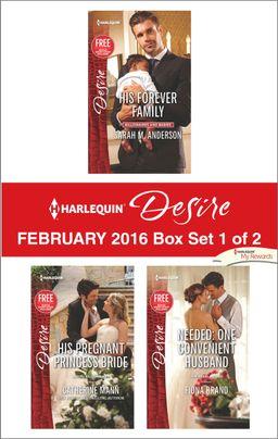 Harlequin Desire February 2016 - Box Set 1 of 2