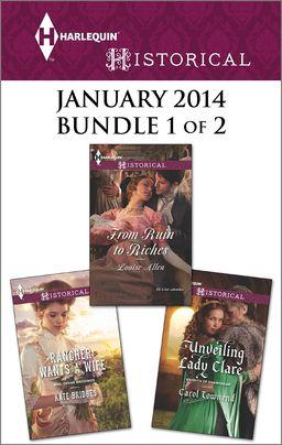 Harlequin Historical January 2014 - Bundle 1 of 2
