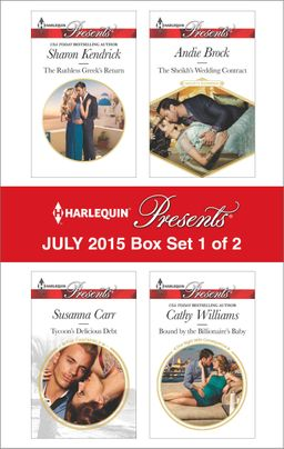 Harlequin Presents July 2015 - Box Set 1 of 2