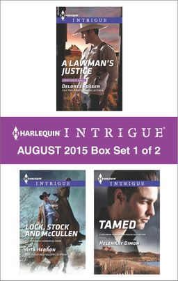 Harlequin Intrigue August 2015 - Box Set 1 of 2