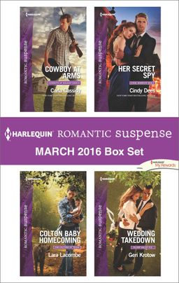 Harlequin Romantic Suspense March 2016  Box Set
