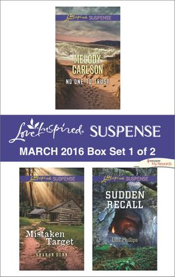 Love Inspired Suspense March 2016 - Box Set 1 of 2