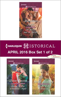 Harlequin Historical April 2016 - Box Set 1 of 2