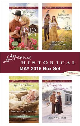 Harlequin Love Inspired Historical May 2016 Box Set