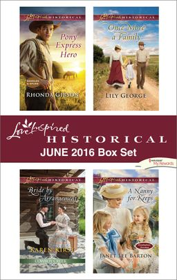 Harlequin Love Inspired Historical June 2016 Box Set