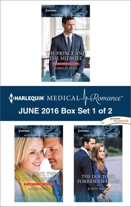 Harlequin Medical Romance June 2016 - Box Set 1 of 2