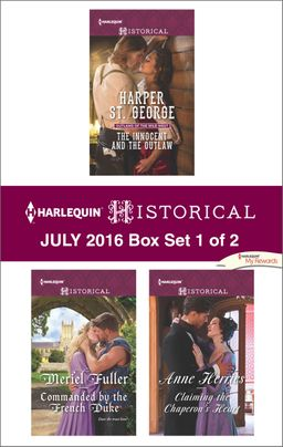 Harlequin Historical July 2016 - Box Set 1 of 2