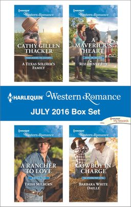 Harlequin Western Romance July 2016 Box Set