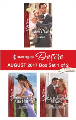 Harlequin Desire August 2017 - Box Set 1 of 2