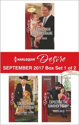 Harlequin Desire September 2017 - Box Set 1 of 2