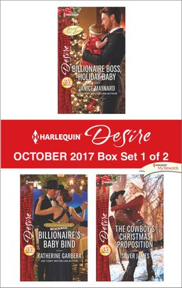 Harlequin Desire October 2017 - Box Set 1 of 2