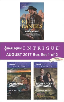 Harlequin Intrigue August 2017 - Box Set 1 of 2