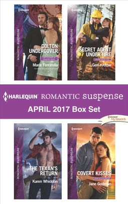 Harlequin Romantic Suspense April 2017 Box Set
