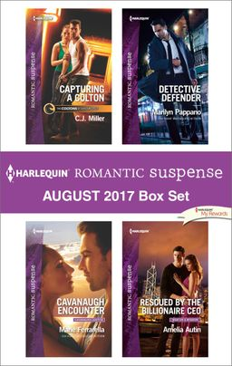 Harlequin Romantic Suspense August 2017 Box Set