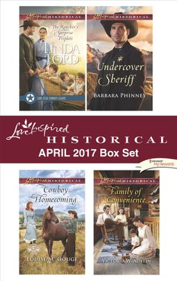 Love Inspired Historical April 2017 Box Set