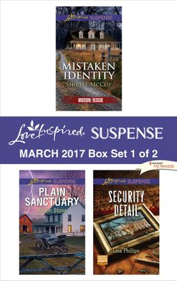 Harlequin Love Inspired Suspense March 2017 - Box Set 1 of 2