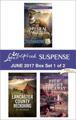 Harlequin Love Inspired Suspense June 2017 - Box Set 1 of 2
