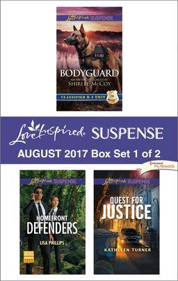 Harlequin Love Inspired Suspense August 2017 - Box Set 1 of 2