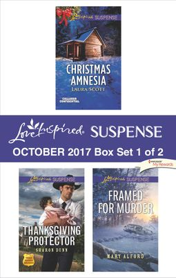 Harlequin Love Inspired Suspense October 2017 - Box Set 1 of 2