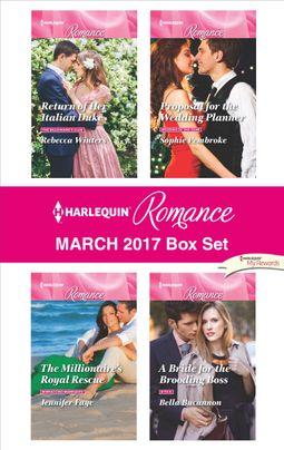 Harlequin Romance March 2017 Box Set