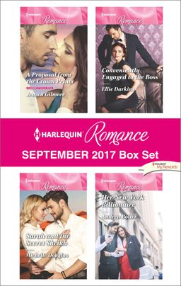 Harlequin Romance September 2017 Box Set