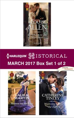 Harlequin Historical March 2017 - Box Set 1 of 2
