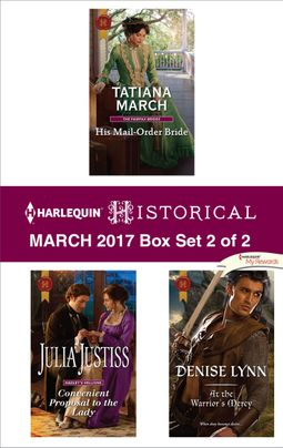 Harlequin Historical March 2017 - Box Set 2 of 2