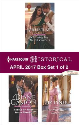 Harlequin Historical April 2017 - Box Set 1 of 2