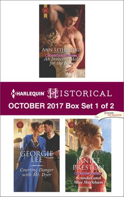 Harlequin Historical October 2017 - Box Set 1 of 2