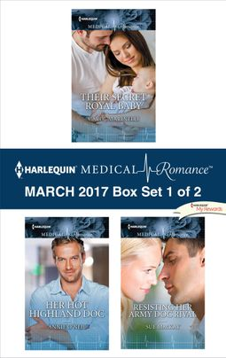 Harlequin Medical Romance March 2017 - Box Set 1 of 2