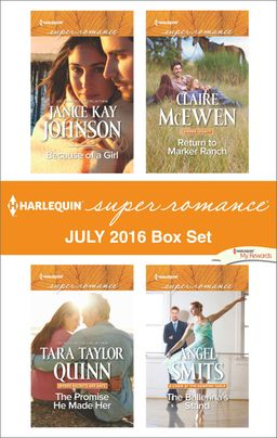 Harlequin Superromance July 2016 Box Set