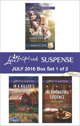 Harlequin Love Inspired Suspense July 2016 - Box Set 1 of 2