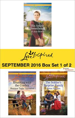 Harlequin Love Inspired September 2016 - Box Set 1 of 2