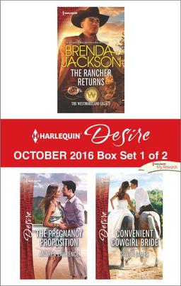 Harlequin Desire October 2016 - Box Set 1 of 2