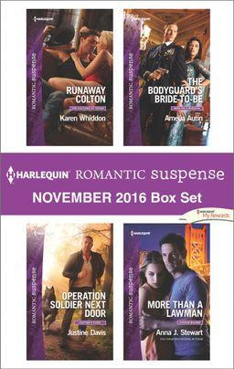 Harlequin Romantic Suspense November 2016 Box Set