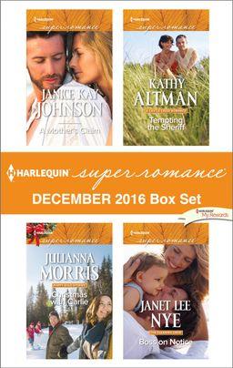 Harlequin Superromance December 2016 Box Set