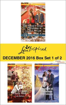 Harlequin Love Inspired December 2016 - Box Set 1 of 2