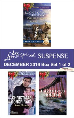 Harlequin Love Inspired Suspense December 2016 - Box Set 1 of 2
