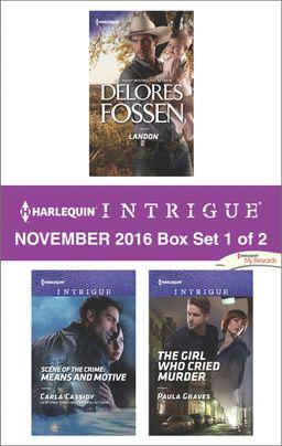 Harlequin Intrigue November 2016 - Box Set 1 of 2