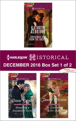 Harlequin Historical December 2016 - Box Set 1 of 2