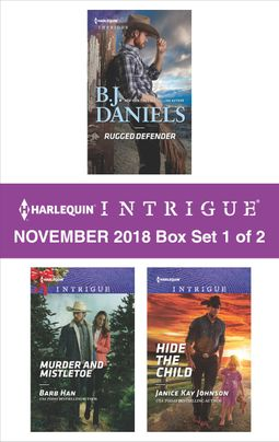 Harlequin Intrigue November 2018 - Box Set 1 of 2